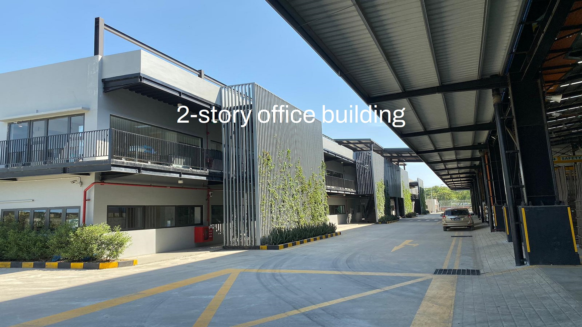 2-story office building